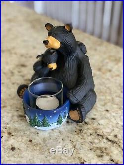 Big Sky Carvers BEARFOOTS Light My Fire Black Bear Collection Jeff Fleming
