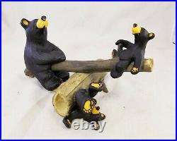 Big Sky Carvers BEARFOOTS Outdoor Fun Black Bear Collection Jeff Fleming Decor