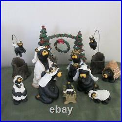 Big Sky Carvers BEARTIVITY BearFoots Nativity Scene Sets Jeff Fleming Christmas