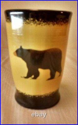 Big Sky Carvers BRUSHWERKS BEAR Mug