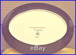 Big Sky Carvers BRUSHWERKS Bear Serving Platter. 16 x 11. Excellent Condition
