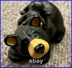 Big Sky Carvers BearFoots Jill And Cub Figurine By Jeff Fleming Numbered Edition