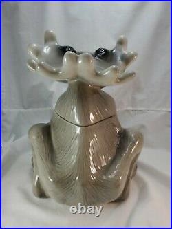 Big Sky Carvers Bear Foot Moose Cookie Jar By Phyllis Driscoll