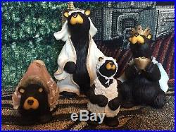 Big Sky Carvers Bear Foots Beartivity II Jeff Fleming Nativity Figures Bear Reti