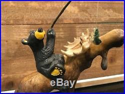 Big Sky Carvers Bear Foots Who Needs Waders Figurine By Jeff Fleming 2013