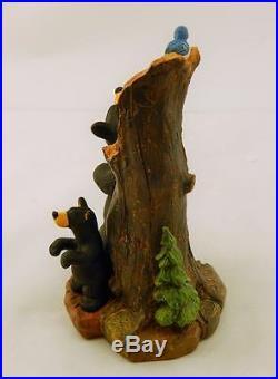 Big Sky Carvers Bearfoots Backscratching Bears Figurine Free Shipping Brand New