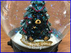 Big Sky Carvers Bearfoots Bear Christmas Snow Globe, Celebrate, Don't Hibernate