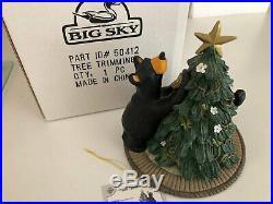 Big Sky Carvers Bearfoots Bear Christmas Tree Trimming Figurine