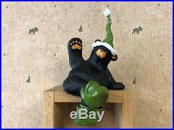 Big Sky Carvers Bearfoots Bear Elfy The Elf Christmas Figurine