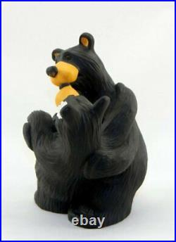 Big Sky Carvers Bearfoots Bear Embrace Collectible Figurine New Free Shipping