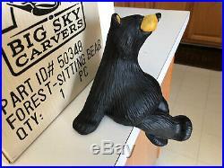 Big Sky Carvers Bearfoots Bear Forest, Shelf Sitter Series