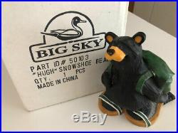 Big Sky Carvers Bearfoots Bear Hugh, Snowshoe Bear, 5.75
