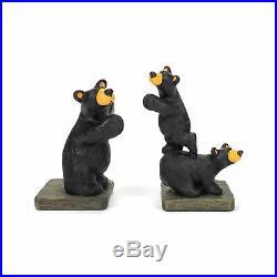 Big Sky Carvers Bearfoots Bear Trilogy Bookends