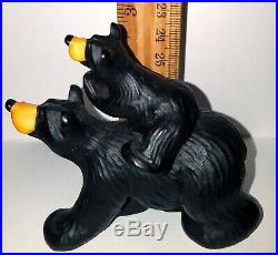 Big Sky Carvers Bearfoots Bears Adult and Cub Cabin Decor Jeff Fleming 3 in