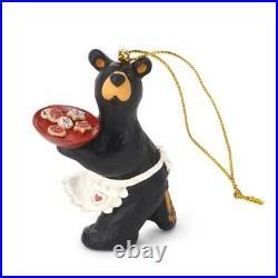 Big Sky Carvers Bearfoots Bears Best Cookie Maker Ornament