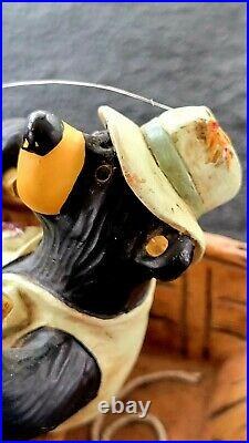 Big Sky Carvers Bearfoots Bears By Jeff Fleming Catch Of The Day Figurine 8