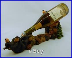 Big Sky Carvers Bearfoots Bears Cork Pullers Wine Holder New Free Shipping