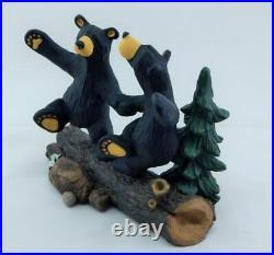 Big Sky Carvers Bearfoots Bears Dancing Bears Figurine Brand New Free Shipping