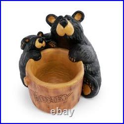 Big Sky Carvers Bearfoots Bears Honey Bear Grand Planter