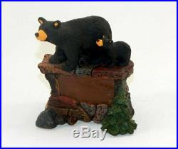 Big Sky Carvers Bearfoots Bears On Stone Personalizable Figurine New Ships Free