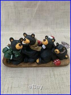 Big Sky Carvers Bearfoots Black Bear Collection Jeff Fleming