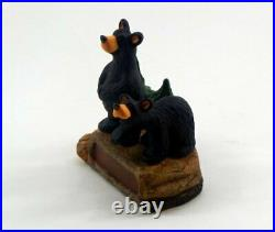 Big Sky Carvers Bearfoots Boulder Cubs Personalizable Figurine New Free Shipping
