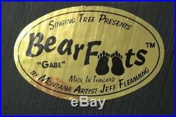 Big Sky Carvers Bearfoots Gabe Jeff Fleming Montana Artist 5 1/2