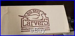 Big Sky Carvers Bearfoots MIKEY Solid Pine Wood Jeff Fleming Waving Black Bear