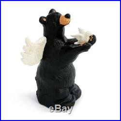 Big Sky Carvers Bearfoots Peace Angel Bear New for 2020