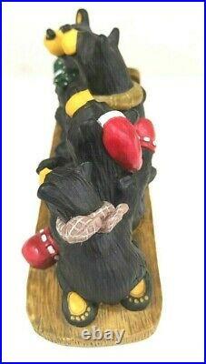 Big Sky Carvers Bearfoots Sled Team Figurine LTD Edition Jeff Fleming 0101/8122