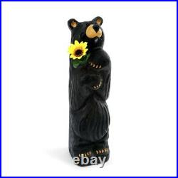 Big Sky Carvers Bearfoots Sunny Greetings Grand Bear Figurine