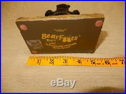Big Sky Carvers Bearfoots figurine Atlas limited edition 702/5132 Jeff Fleming