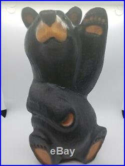 Big Sky Carvers Bears 12 H Beautiful Black Bear Carving Jeff Fleming Montana