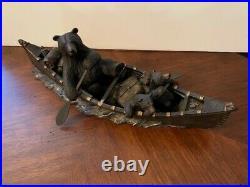 Big Sky Carvers Bears Canoe Trip #B1498 Bearfoots Jeff Fleming