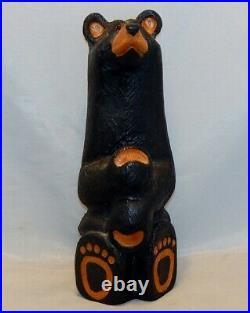 Big Sky Carvers Bears Carved Bear Jeff Fleming Solid Western Pine
