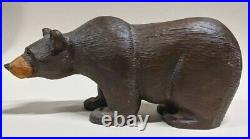 Big Sky Carvers Bears solid wood 11 Jeff Fleming Brown Bear Rare