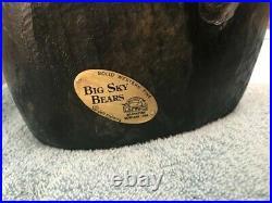Big Sky Carvers Bears solid wood 13 Jeff Fleming Bearfoots