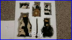 Big Sky Carvers Beartivity II, Nativity, Bears, Excellent Condition