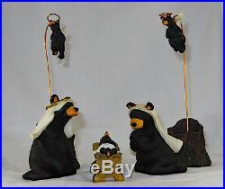 Big Sky Carvers Beartivity I Bear Nativity Jeff Fleming Montana Beartivity 1