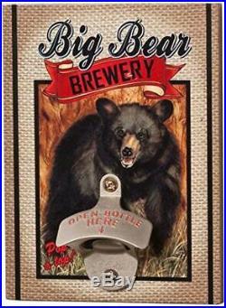 Big Sky Carvers Big Bear Brewery Bottle Opener