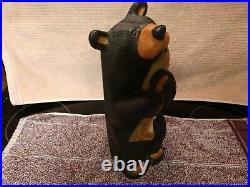 Big Sky Carvers Big Sky Bears 11 1/2 tall bear and fish Jeff Fleming