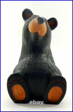Big Sky Carvers Big Sky Bears Solid Wood Sitting Bear Brand New Free Shipping