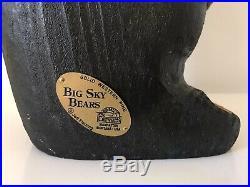 Big Sky Carvers Black Bear Wood Jeff Fleming Solid Western Pine 20 Wonderful