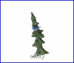 Big Sky Carvers Bluebird and Bear with Tree Figurine