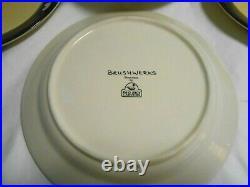 Big Sky Carvers Brushwerks Bear 2 Soup Bowls & 1 Salad & 2 Dessert Plates w2s2
