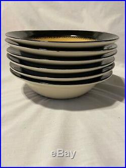 Big Sky Carvers Brushwerks Bear Soup Bowls Set of 6