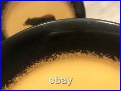 Big Sky Carvers-Brushwerks-Brown Bear/Embossed Paw-Stoneware Salad Plates(Qty. 4)