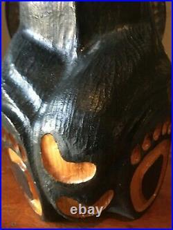 Big Sky Carvers Carved Black Bear Figure Large