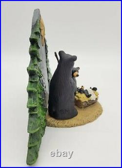 Big Sky Carvers FOREST NATIVITY BEAR FAMILY 12 Figurine Bearfoots Jeff Fleming