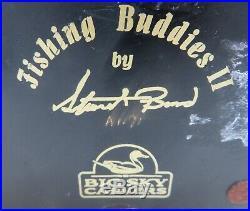 Big Sky Carvers Fishing Buddies II SIGNED Stuart Bond A1171